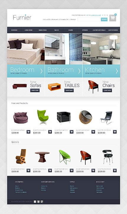 ADOBE Photoshop Template 44694 Home Page Screenshot