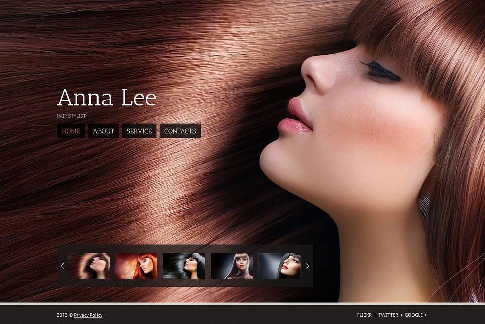 Hair Salon Moto CMS HTML Template New Screenshots BIG