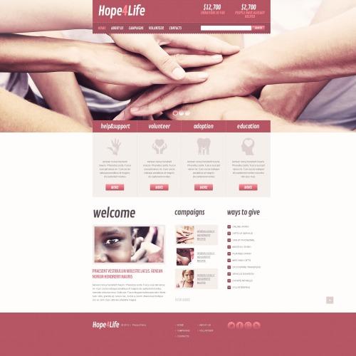 Hope 4 Life - HTML5 Drupal Template
