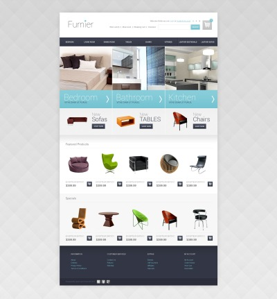 Home and Office Furniture OpenCart Template
