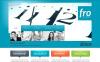 Modèle Moto CMS HTML  pour une agence de publicité New Screenshots BIG