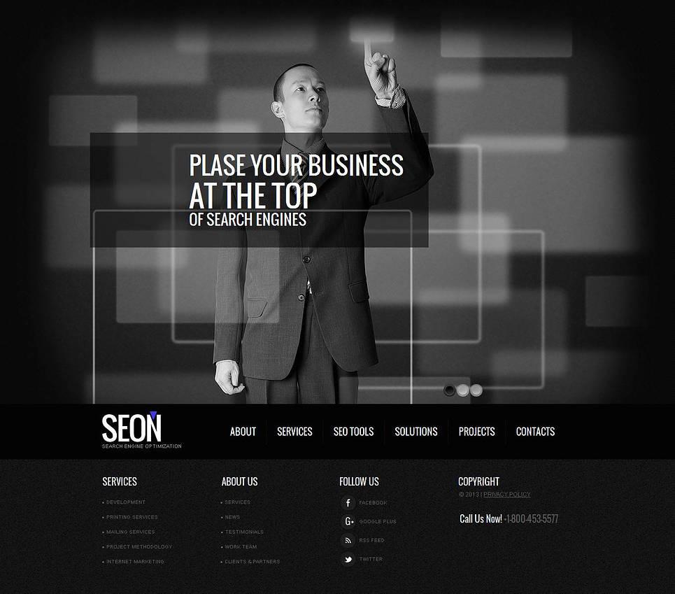 SEO Website Moto CMS HTML Template New Screenshots BIG