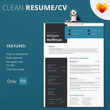 CV Builder | Free Resume Templates | MotoCMS