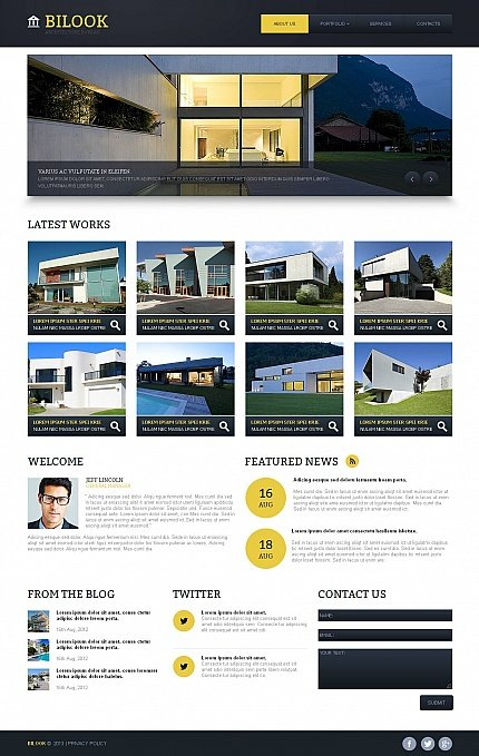 ADOBE Photoshop Template 44702 Home Page Screenshot