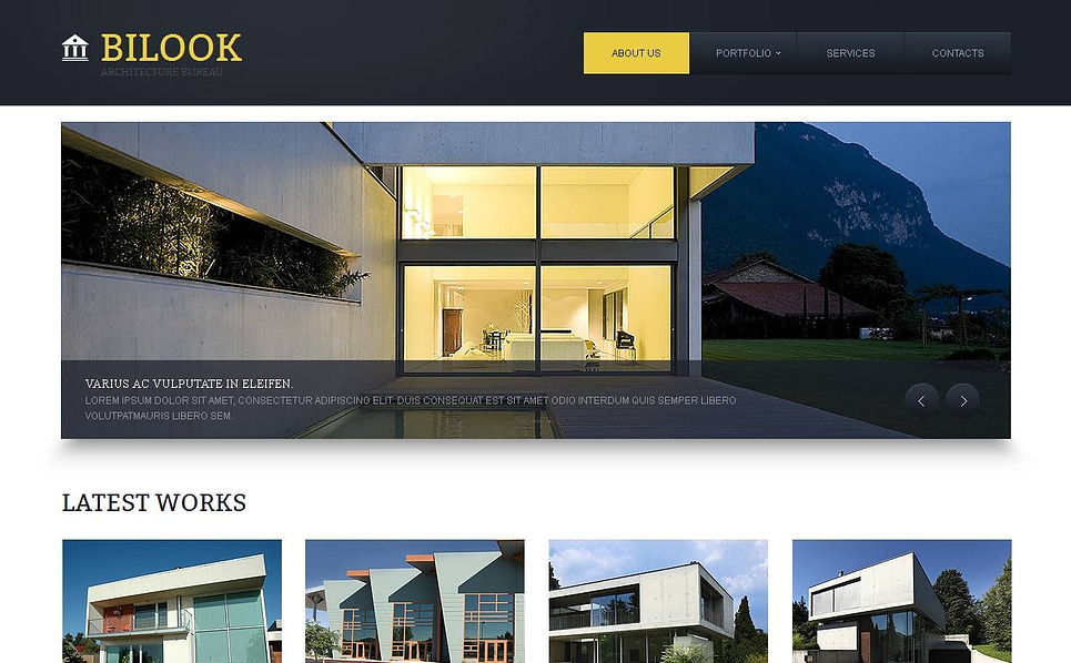 Plantilla Moto CMS HTML #44702 para Sitio de Empresa de construcción New Screenshots BIG