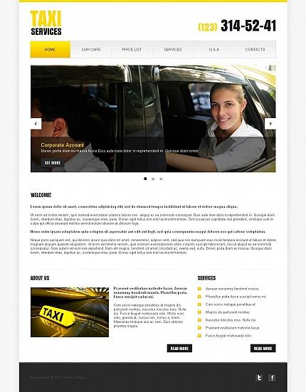 ADOBE Photoshop Template 44703 Home Page Screenshot