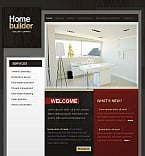 Architecture Facebook HTML CMS  Template 44725