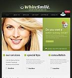 Medical Facebook HTML CMS  Template 44727