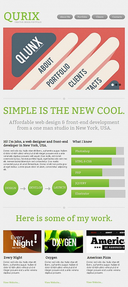ADOBE Photoshop Template 44728 Home Page Screenshot