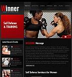 Sport Facebook HTML CMS  Template 44731