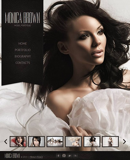 ADOBE Photoshop Template 44734 Home Page Screenshot