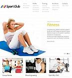 Sport Facebook HTML CMS  Template 44735
