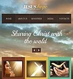 Religious Facebook HTML CMS  Template 44736