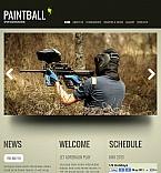 Sport Facebook HTML CMS  Template 44737