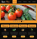Agriculture Facebook HTML CMS  Template 44738