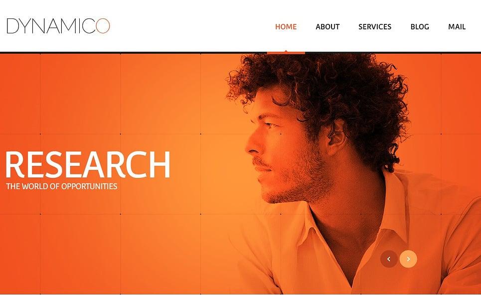 Responsive Website template over Marketingbureau New Screenshots BIG