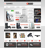 Games OpenCart  Template 44765