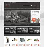 Sport OpenCart  Template 44766