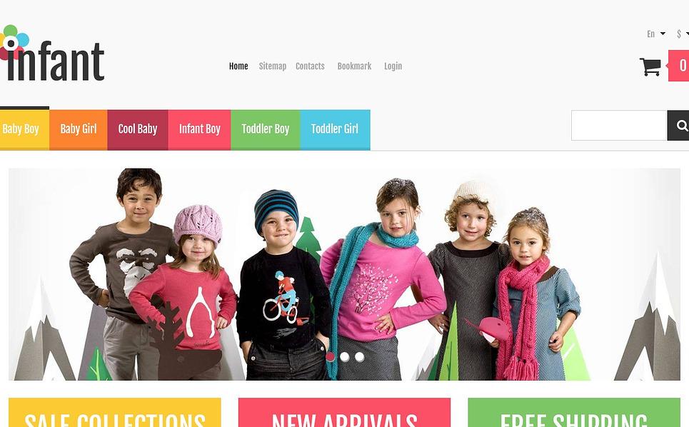 Tema PrestaShop Responsive #44772 per Un Sito di Abbigliamento New Screenshots BIG