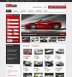 Cars Flash CMS  Template 44777