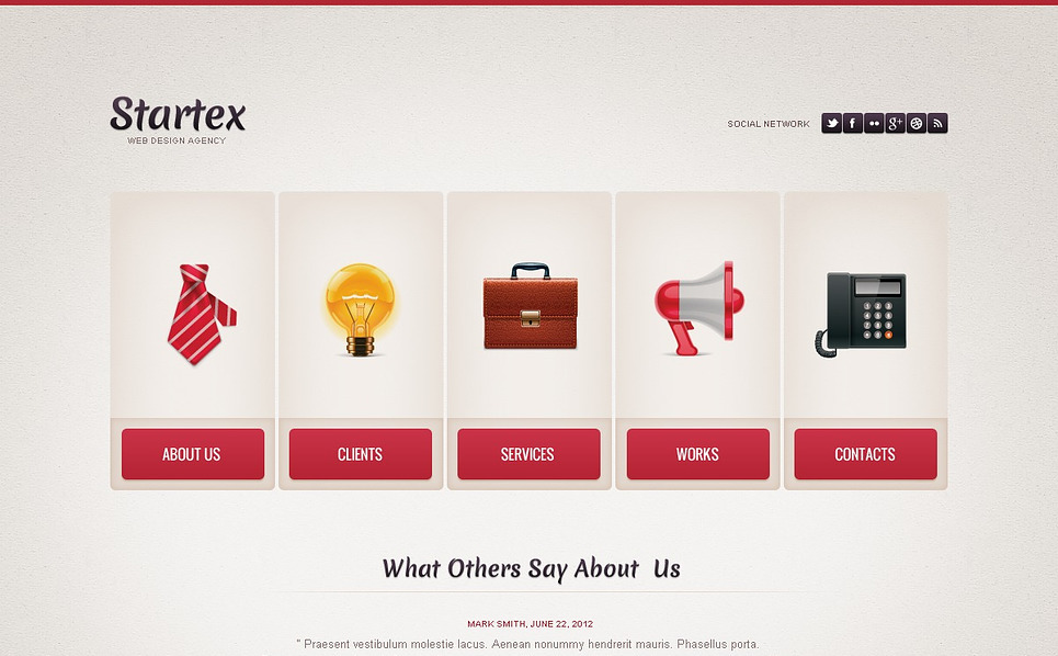 Luxusní Flash CMS šablona na téma Webový Design New Screenshots BIG
