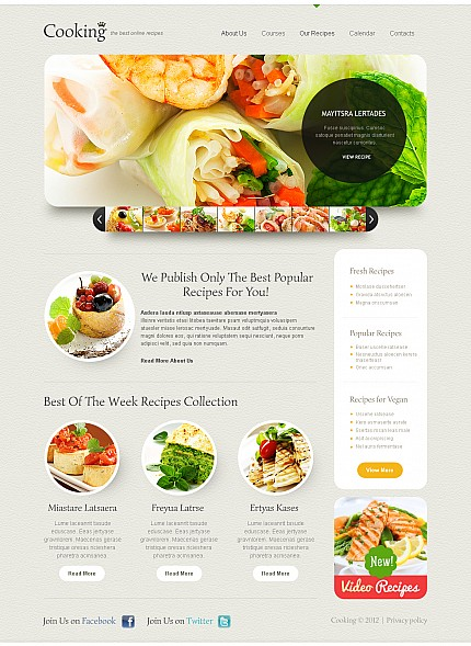 ADOBE Photoshop Template 44781 Home Page Screenshot