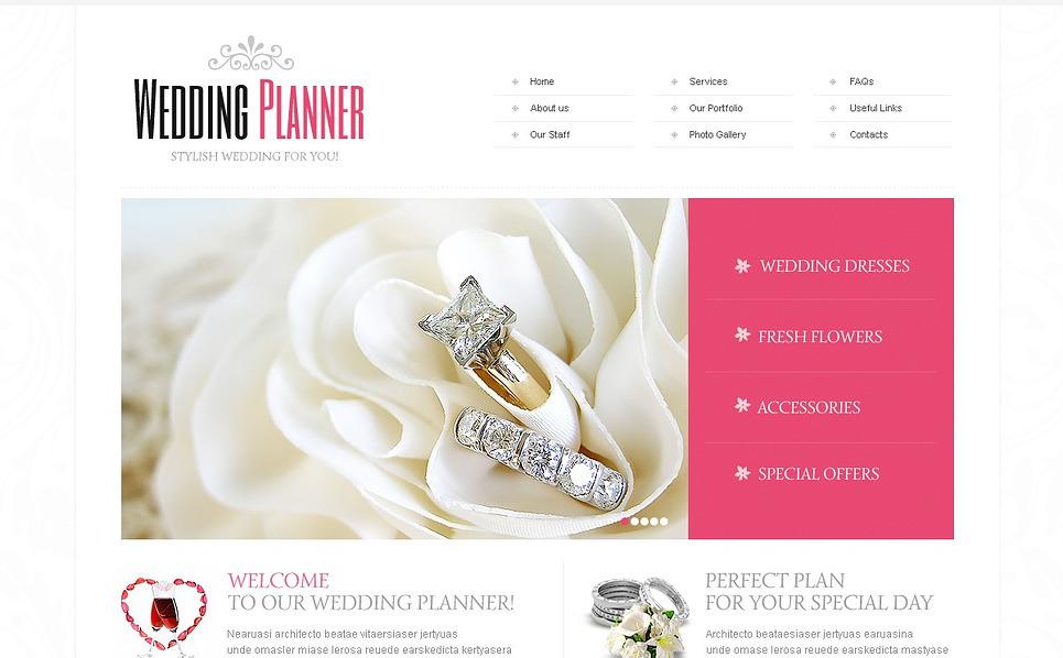 Premium Flash CMS Template over Huwelijksplanner  New Screenshots BIG