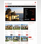 Real Estate Flash CMS  Template 44784