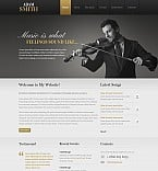 Personal Page Flash CMS  Template 44788