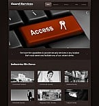 Security Flash CMS  Template 44792