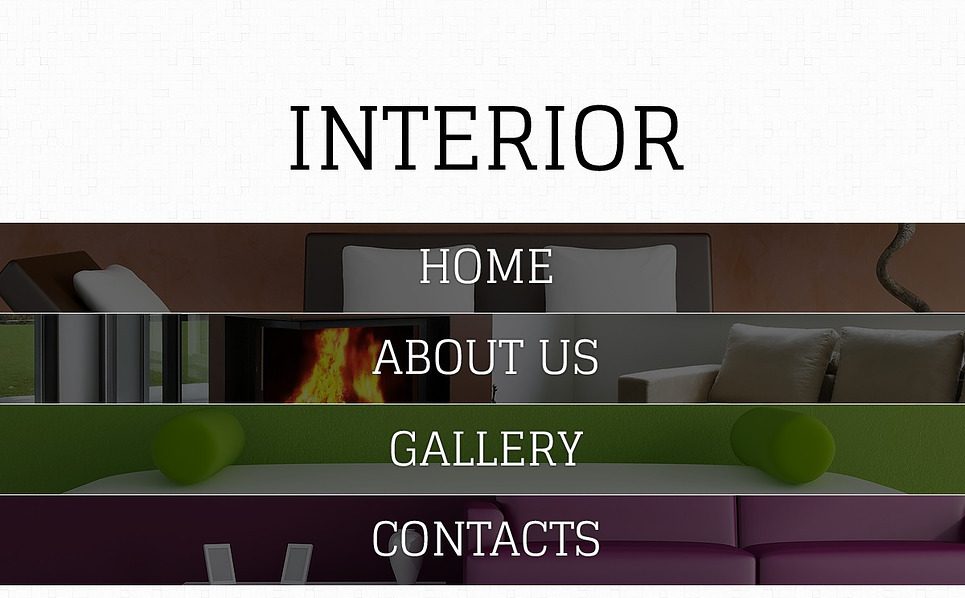 Premium Flash CMS Template over Interieur-design  New Screenshots BIG