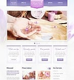 Beauty Flash CMS  Template 44799