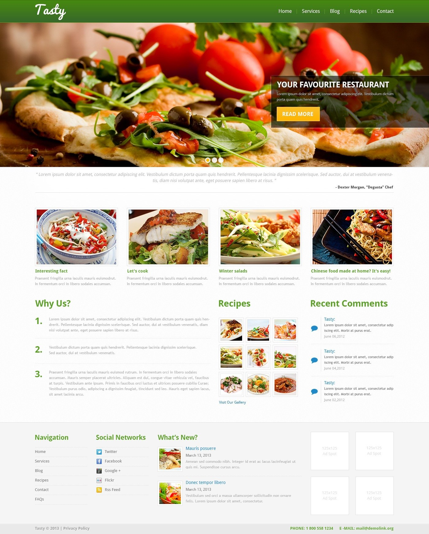 Cooking recipes online wordpress theme 44762 cooking recipes online wordpress theme forumfinder