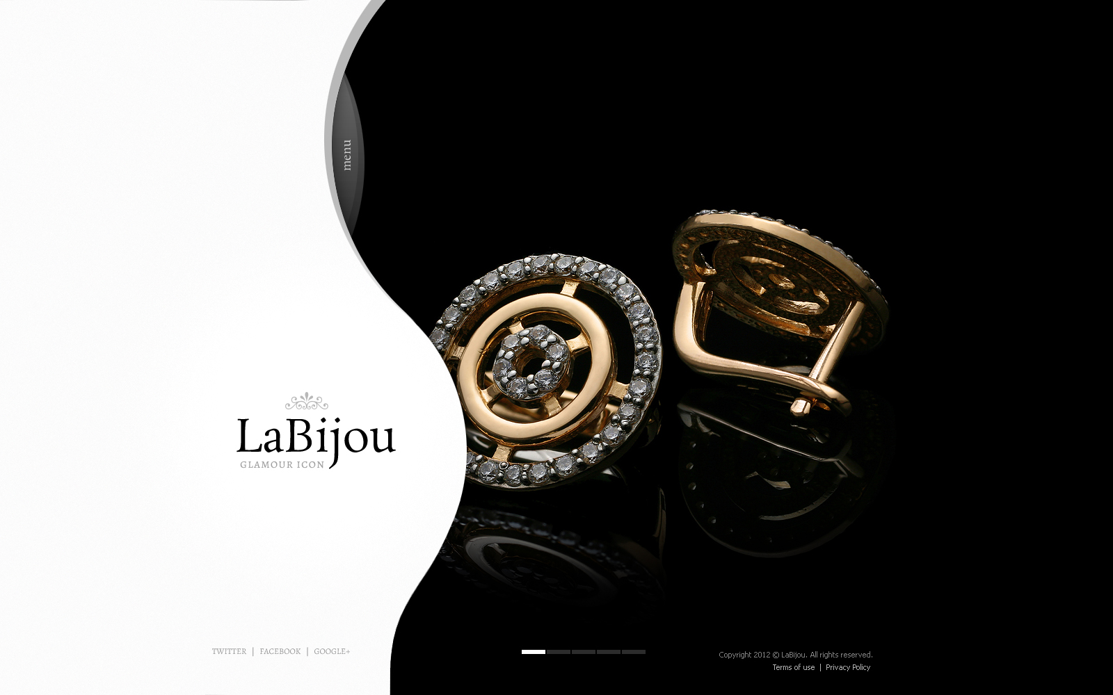 Jewelry flash cms template 44786 jewelry flash cms template pronofoot35fo Image collections