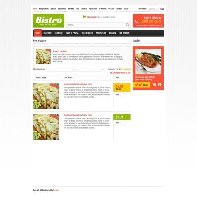Food Store Tema ZenCart