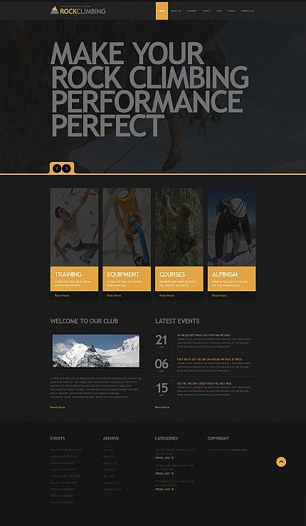 ADOBE Photoshop Template 44800 Home Page Screenshot