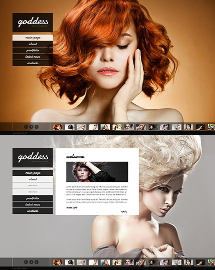 ADOBE Photoshop Template 44802 Home Page Screenshot