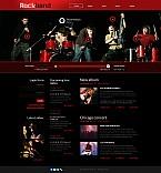 Music Flash CMS  Template 44807