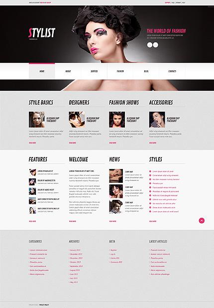 WordPress Theme/Template 44820 Main Page Screenshot