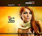 Beauty Website  Template 44824