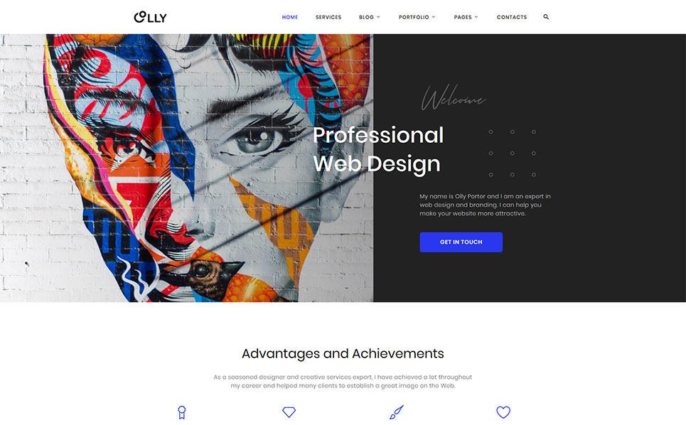 Responsywny szablon strony www #44829 na temat: portfolio projektanta New Screenshots BIG