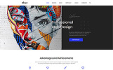 Responsivt Olly - Advertising Agency Multipage HTML5 Hemsidemall