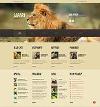 Animals & Pets WordPress Template 44843