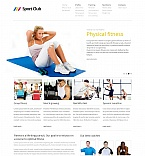 Sport Moto CMS HTML  Template 44849