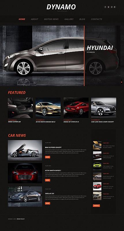 ADOBE Photoshop Template 44857 Home Page Screenshot