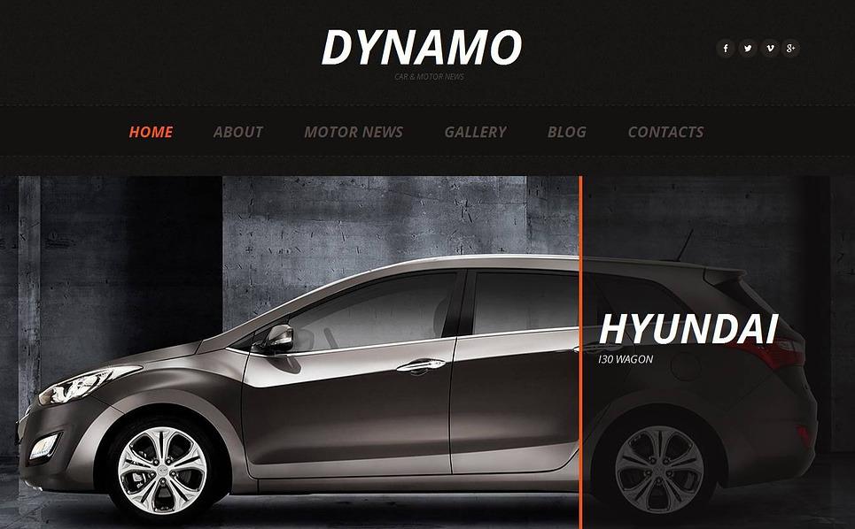 Premium Otomobil Kulübü  Moto Cms Html Şablon New Screenshots BIG