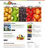 Agriculture Moto CMS HTML  Template 44865