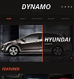 Cars Facebook HTML CMS  Template 44876