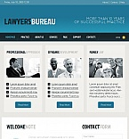 Law Facebook HTML CMS  Template 44881