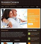 Religious Facebook HTML CMS  Template 44882